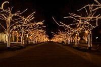 Подключение освещения зданий в Таганроге