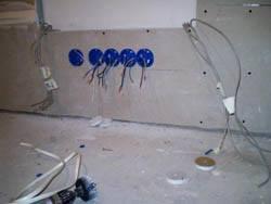 Электромонтажные работы в квартирах новостройках в Таганроге. Электромонтаж компанией Русский электрик